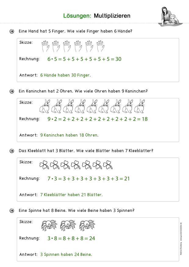 Arbeitsblätter 2.klasse zum ausdrucken mathe