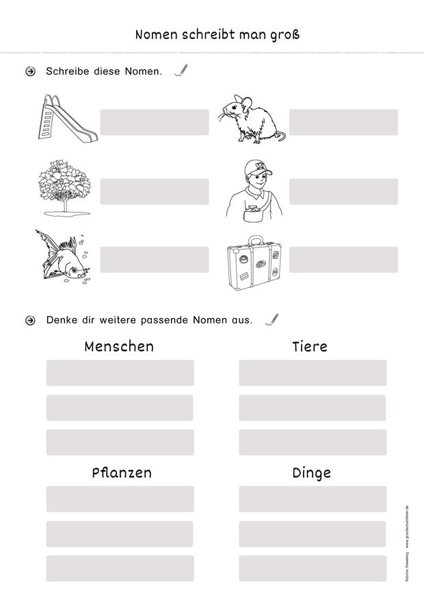 Tiere arbeitsblatt der sprache Kreatives Schreiben