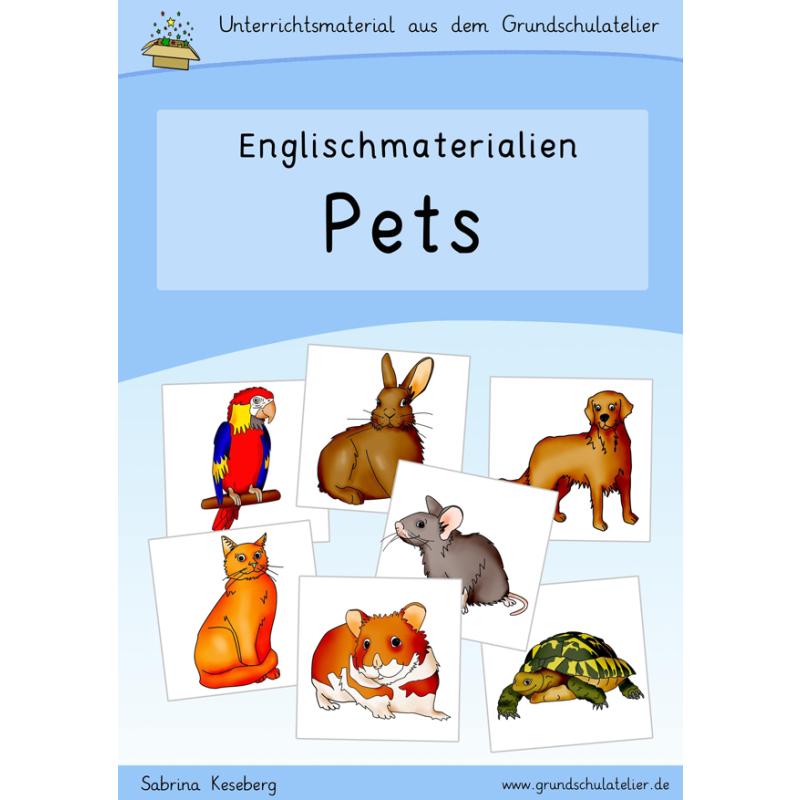 Englischmaterialien: pets (Haustiere)