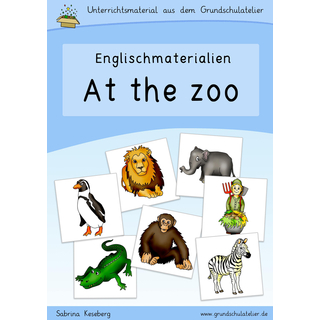 Animals at the zoo (Zootiere)