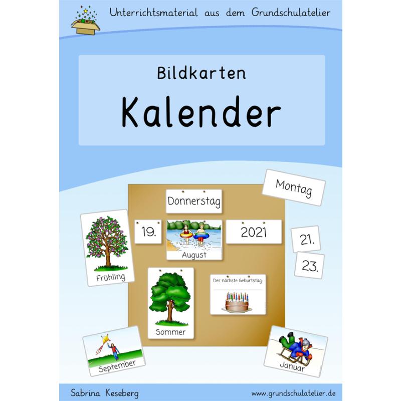 Kalender-Bildkarten