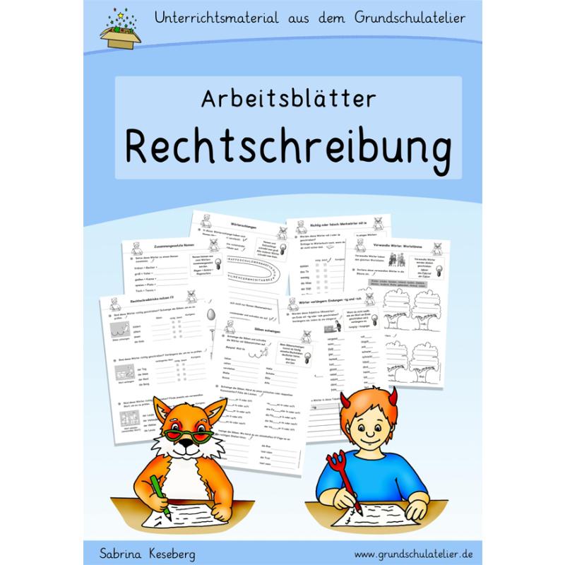 Rechtschreibung, Rechtschreibstrategien (Arbeitsblätter)