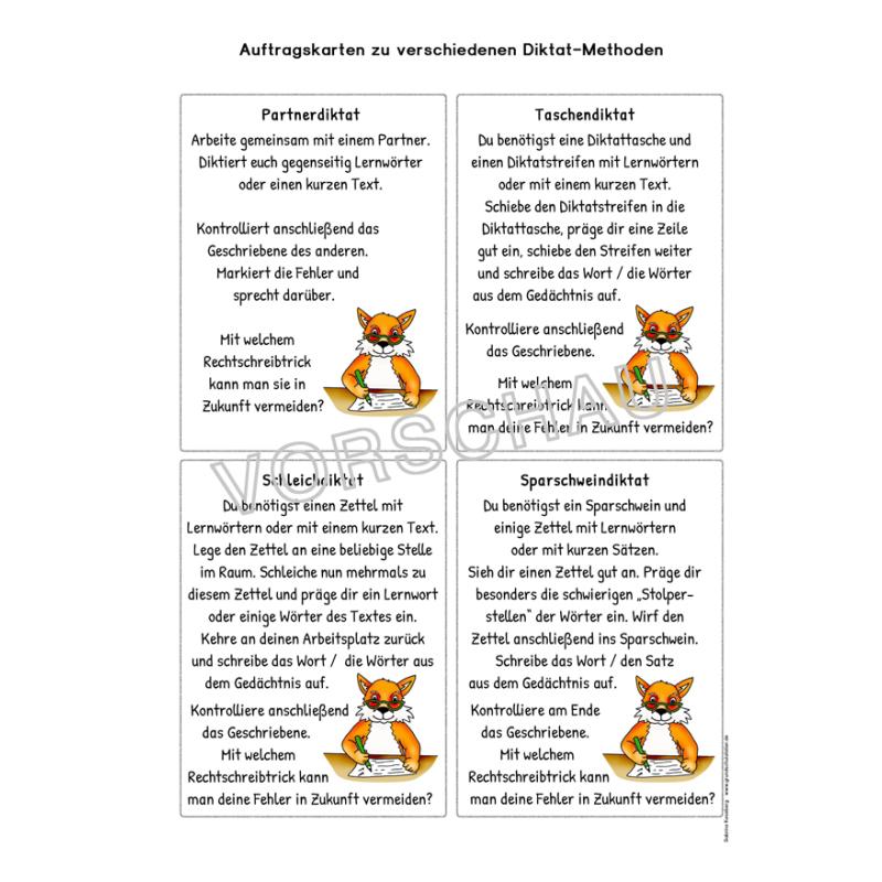 rechtschreibung rechtschreibstrategien arbeitsbl228tter