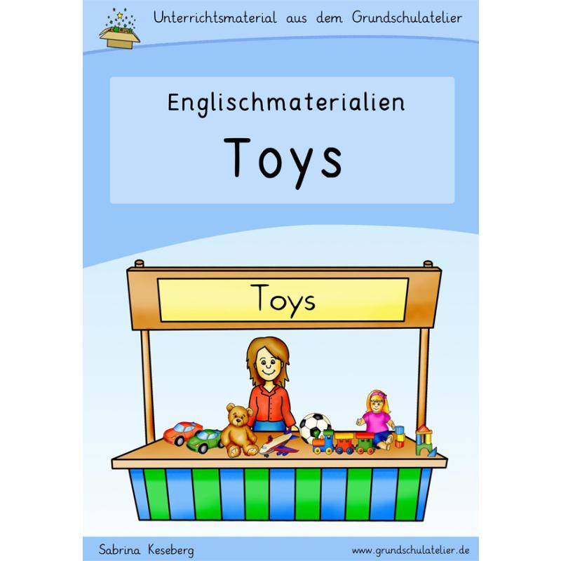 Englischmaterialien toys