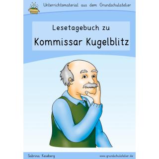 Detektive & Lesetagebuch zu Kommissar Kugelblitz (Arbeitsblä
