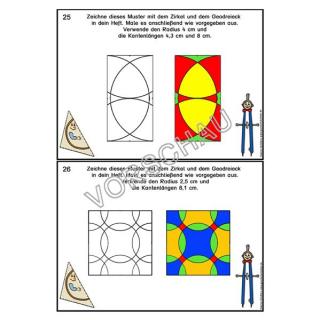 Zeichnen Mit Zirkel Und Geodreieck