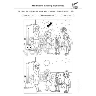 Englischmaterialien: Halloween