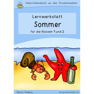 Sommer-Arbeitsblatt-Grundschule-Unterrichtsmaterialien