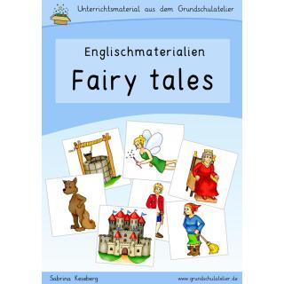 Englischmaterial-fairy tales-Märchen-Arbeitsblatt-Bildkarten-Lernspie