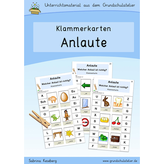 Anlaute (Klammerkarten)