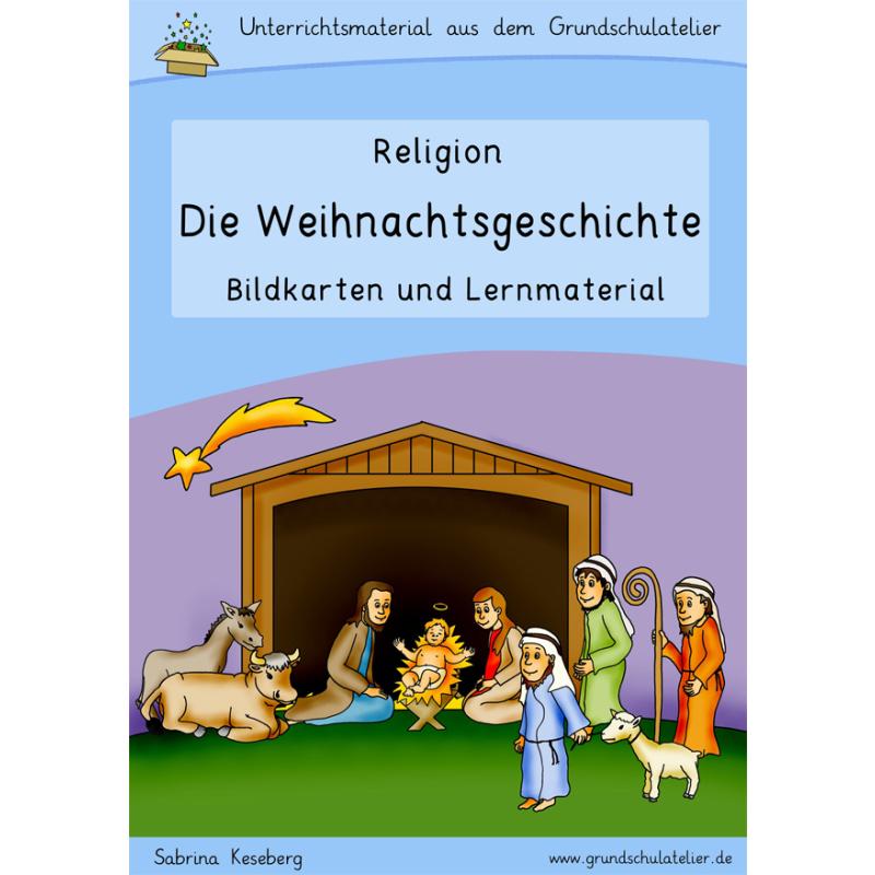 Weihnachten-Grundschule-Arbeitsblatt-Unterrichtsmaterial