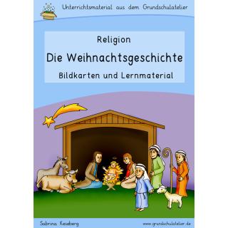 Die Weihnachtsgeschichte: Bilder und Unterrichtsmaterial für den ...