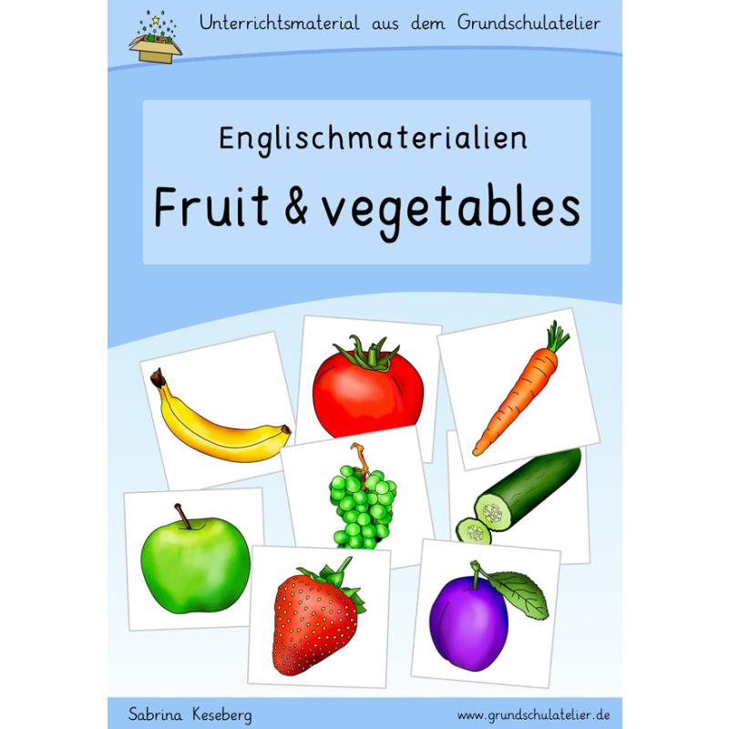 Englischmaterialien: fruit and vegetables