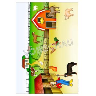 Wunderbar Farm Arbeitsblatt Galerie - Arbeitsblatt Schule ...