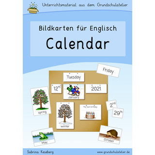 Calendar for the classroom