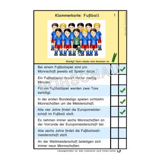 Fußballwerkstatt für die Grundschule