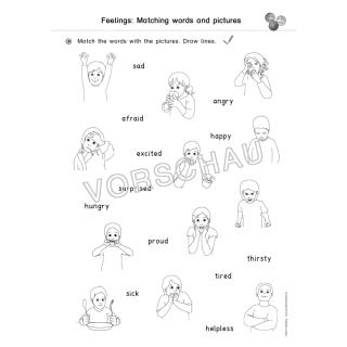 Englisch Gefühle