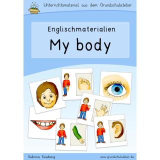 Englischmaterial-body-Körper-Arbeitsblatt-Bildkarten-Lernspiele-Unter