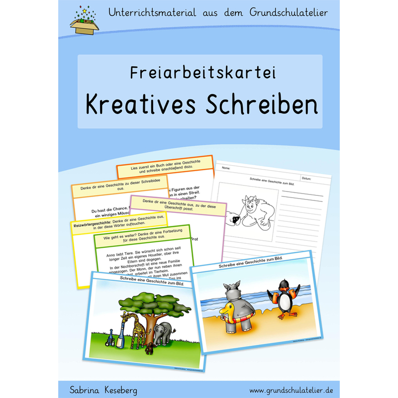 Unterrichtsmaterial Kreatives Schreiben Schreibanlässe