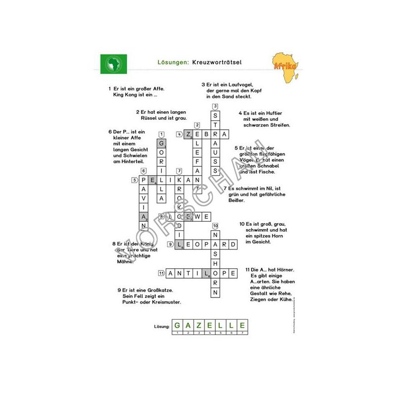 afrika werkstatt f r die grundschule. Black Bedroom Furniture Sets. Home Design Ideas