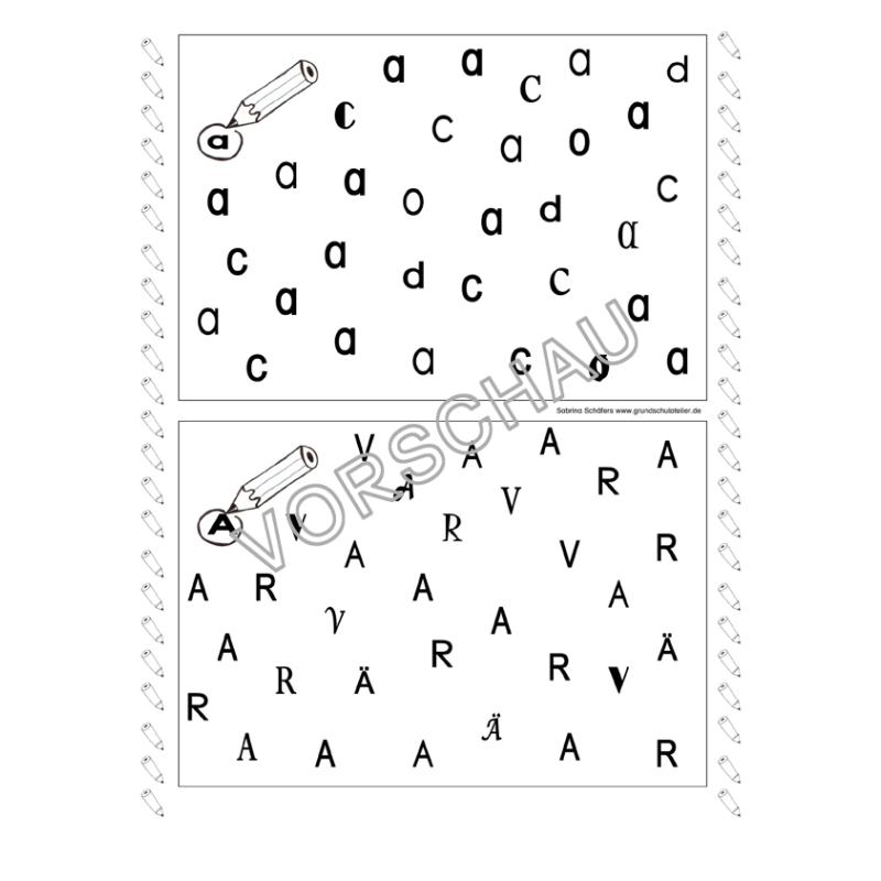 Arbeitsblätter Abc Grundschule : Abc werkstatt arbeitsblätter zur buchstabeneinführung