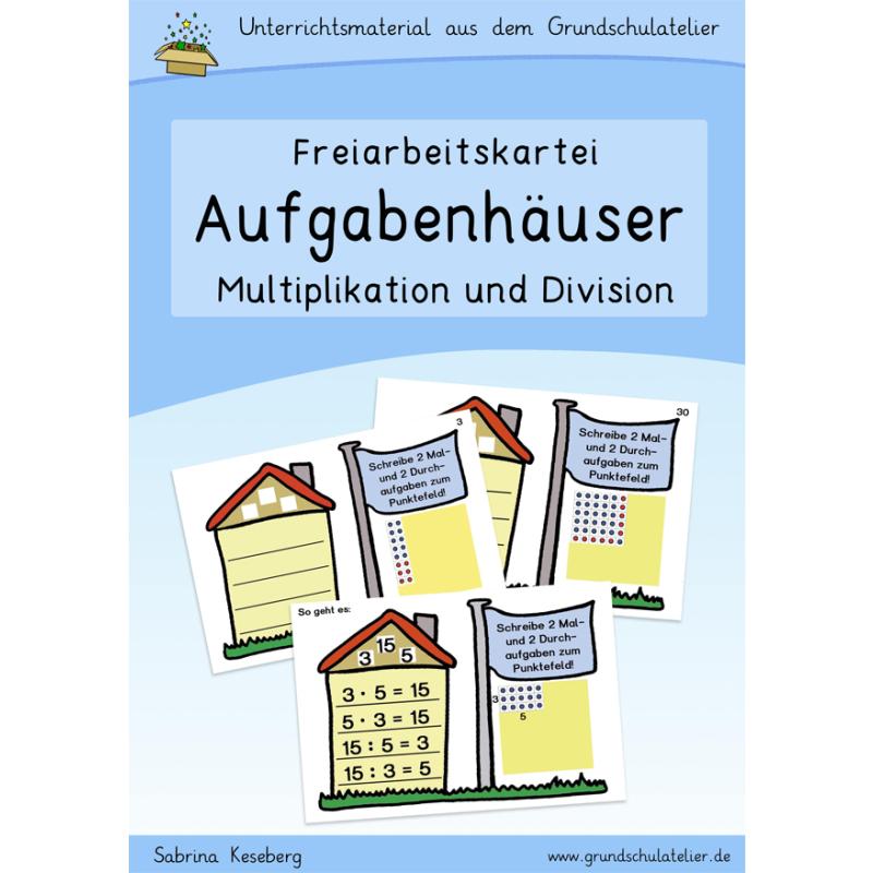 Aufgabenhäuser: Multiplikation und Division